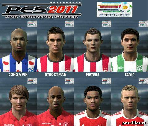 Pes 2011 Eredivisie Faces Pack
