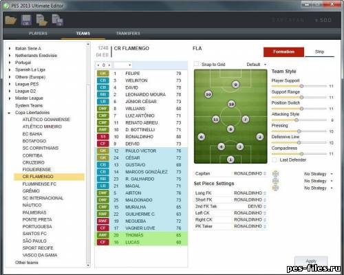 PES 2013 Ultimate Editor