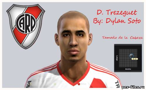 DAVID TREZEGUET FACE