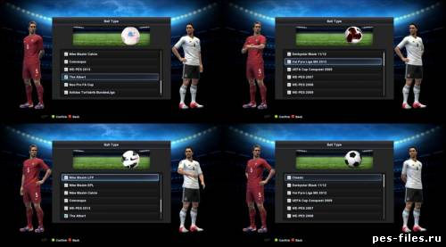 PES 2013 DEMO All Graphic