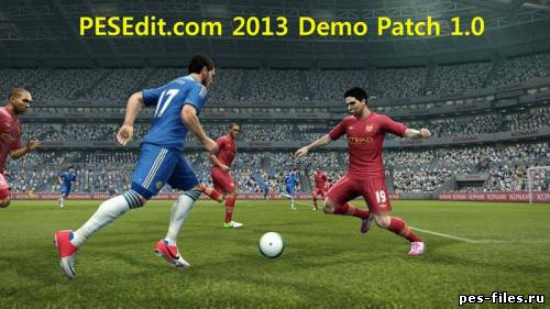 PESEdit.com 2013 Demo Patch 1.0
