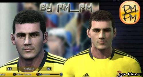 Pes 2011 Casillas New face