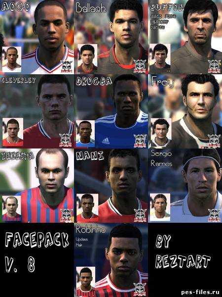 2011 Facepack vol12