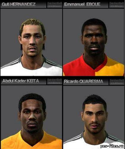 Pes 2011 Facepack vol12
