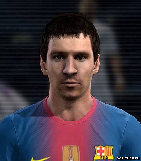 Pes 2012 Messi Face by DemonYegor