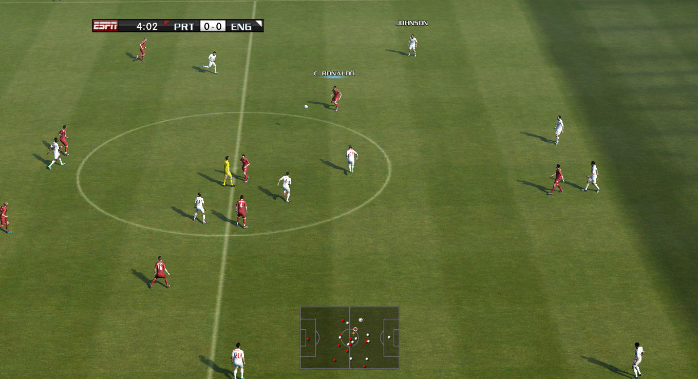 Ball Cursor like shadow Pes 13