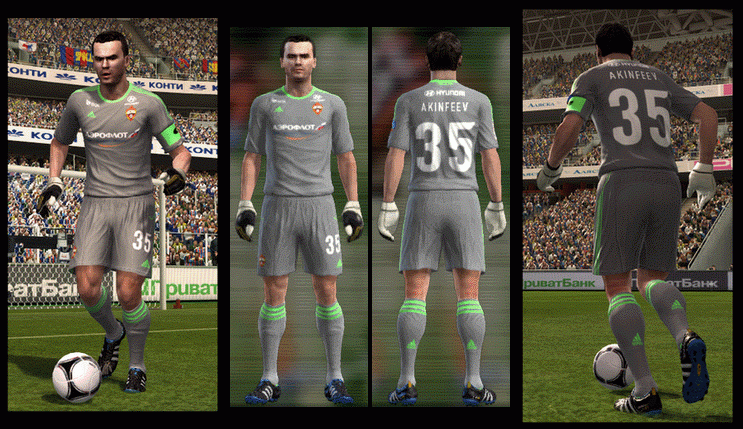 Real Madrid 12/13 FULL GDB KIT SET by arturo610 - PES Patch