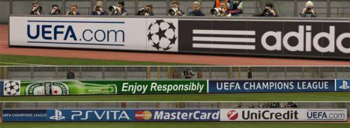 Improved Champions League Adboards