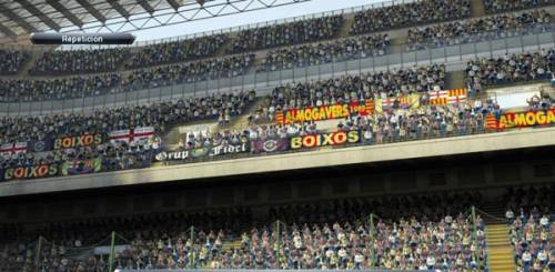 PES 2013 SUPPORTERS BANNERS PATCH 1.1