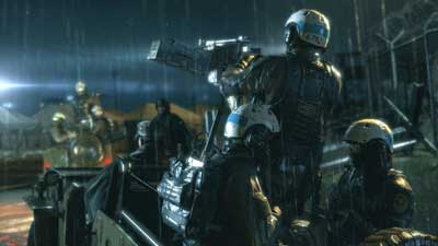 Metal Gear Solid V: Ground Zeroes на FOX Engine