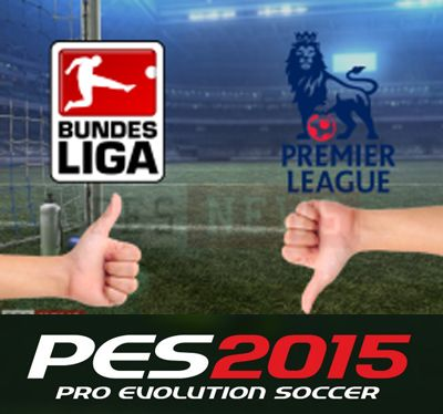 Pes 2015 без Barclays Premier League, Bundesliga возможно