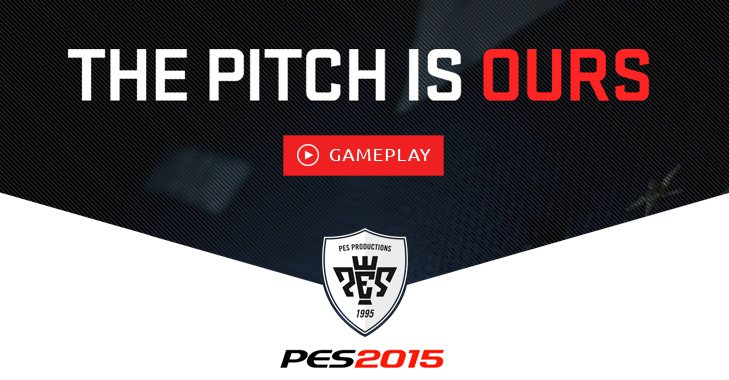 First Gameplay Trailer for PES 2015