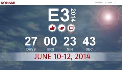 Konami во всю готовится к E3 2014