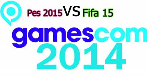Pes 2015 VS Fifa 15 gameplay Gamescom