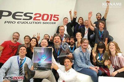 PES 2015 на Gamescom