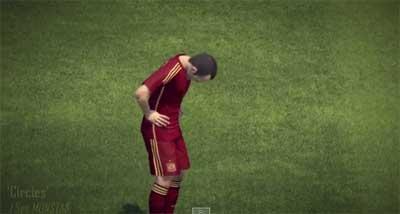 Gameplay видео Pro Evolution Soccer 2015
