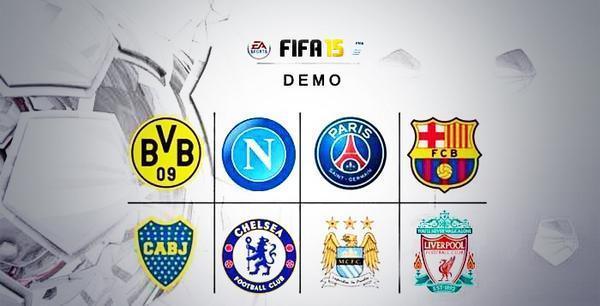 Выход FIFA 15 Demo