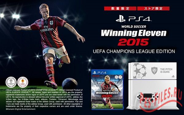 Winning Eleven 2015 special edition of PS4