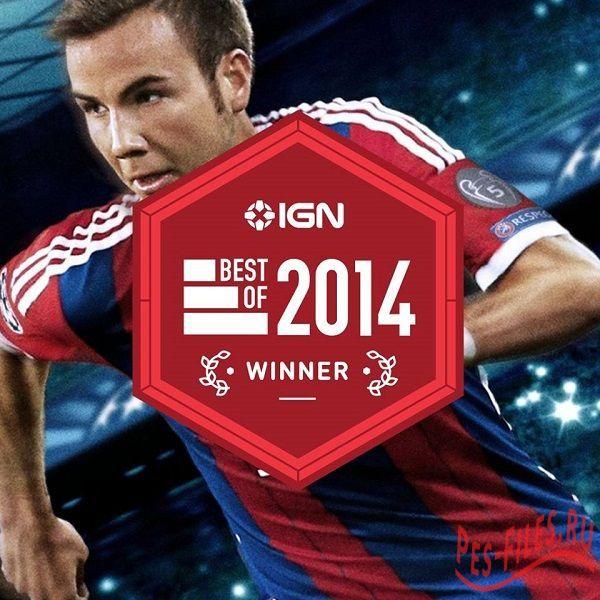 PES 2015 лучшая спортивная видео игра 2014 года