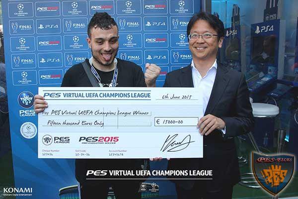 Рашид Табане стал чемпионом мира PES 2015