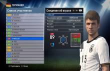 Мюллер Евро 2016 для Pes 2016 DLC 3.0