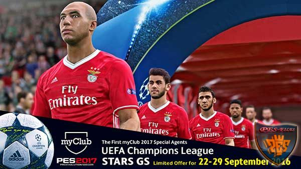 Агент Uefa Champions League STARS GS Pes 2017