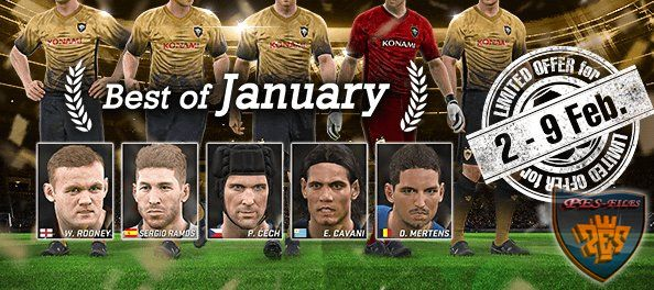 Кампания Best Of January и UEFA TOTY 2016 myClub
