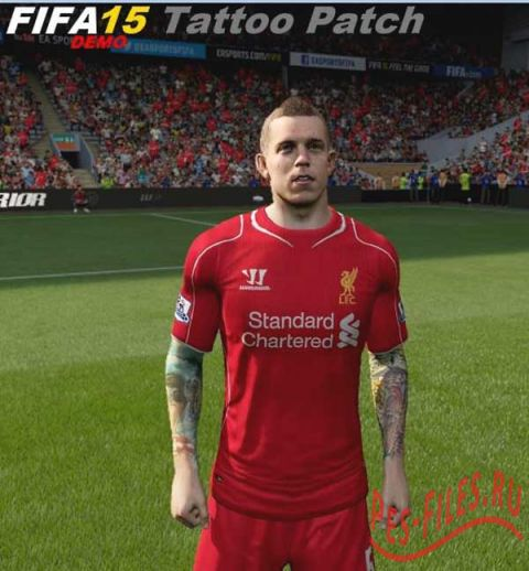 FIFA 15 Demo Tattoo mod