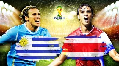ЧМ-2014: Уругвай – Коста-Рика / обзор матча (14.06.2014)
