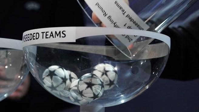 Жеребьевки UEFA Champions League и UEFA Europa League.