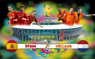 Нидерланды громят Испанию !!! / Чемпионат Мира 2014 / Группа В