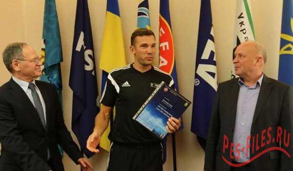 Андрей Шевченко получил тренерскую категорию PRO