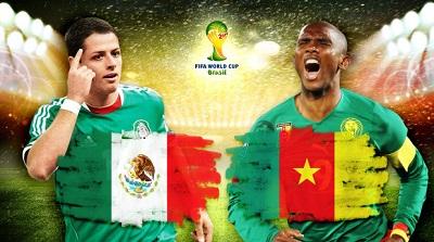 Чемпионат Мира 2014 / Группа A / 1-й тур / Мексика – Камерун
