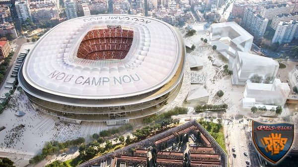Barcelona New Camp Nou Project Pes 2017