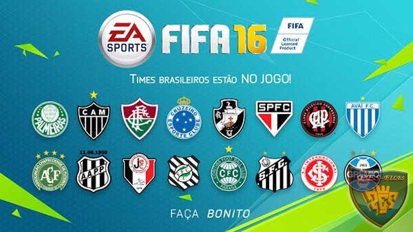 В FIFA 16 будут 16 бразильских клуба